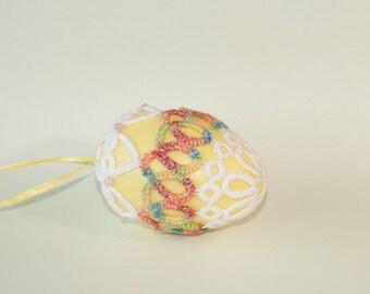 Tatted Easter Egg
