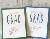 Graduation Card | Congratulations GRAD | Rae Dunn Inspired
