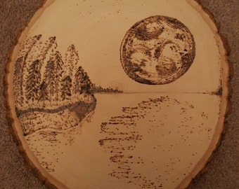 Wood Burned Wall Art