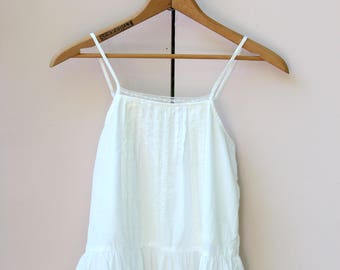 White Lace Camisole Blouse