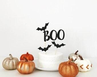 Halloween Boo Cake Topper