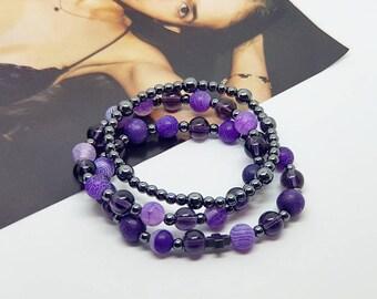 Handmade natural stone bracelet KK01