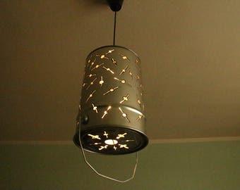 """Metal Lampshade """"Saturn"""""""