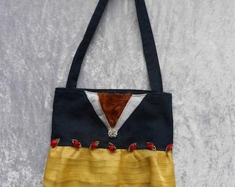 Tote: Beauty and the Beast Tote Bag; Disney Bag; Disney Tote