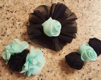 Set of 3 Hair Barrettes