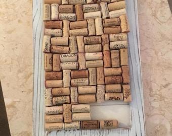Wine Cork Memo Board