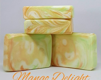 Mango Delight Handcrafted Soap