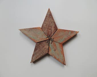 Rustic star decor Etsy