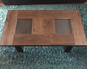Reclaimed Oak and Steel Coffee Table