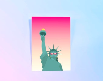 Statue of Liberty, New York Print