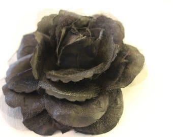 BLACK ROSE Large Fabric