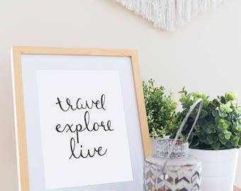 Travel Explore Live