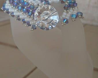 lavish Swarovski crystals bracelet