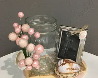 Candle Holder and Picture Frame