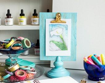 Calla Lily - Watercolor - Digital Print - 8x10 and 5x7