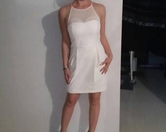 Forever New size 8 white dress