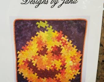 Twister Pumpkin pattern