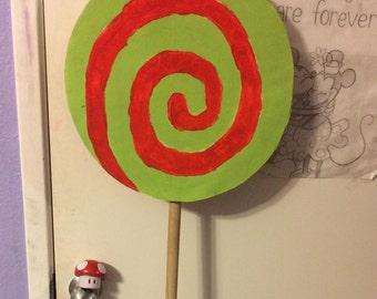 Large lollipop cosplay prop homestuck juju