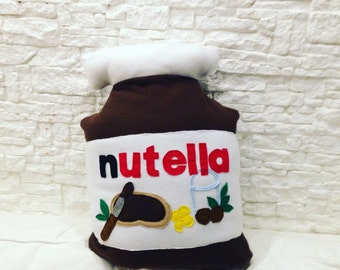 giant Nutella cushion to be customized on the back