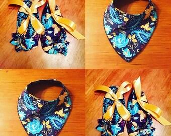 Custom Bib and Ballerina Slipper Set