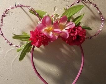 The pink lady disney ears