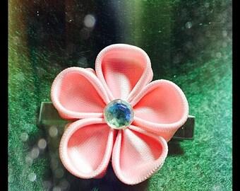 Simple Cherry Blossom Hair Clip