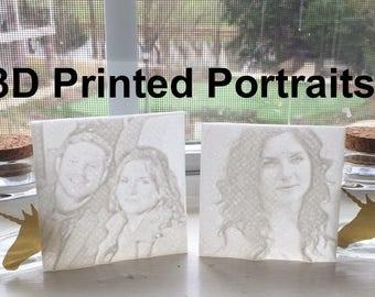 3D Print Portrait Selfie Photo