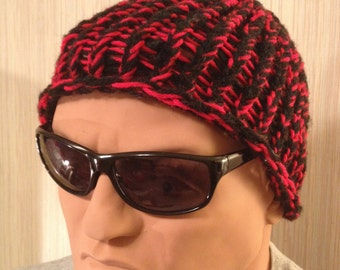 GOURDHEAD Pumpkin Gourd Stem Knit Hats HANDMADE Upcycled Beanie Skicap Knitted Cap Adult Size Hat Free shipping in USA!