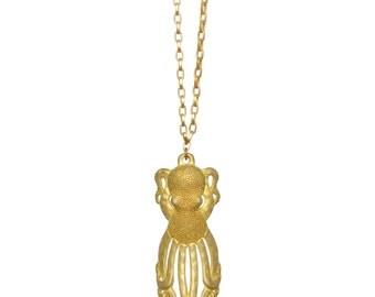 Octopus Necklace - Final Sale