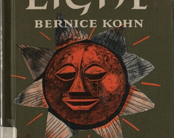 Light - Bernice Kohn - Janina Domanska - 1965 - Vintage Kids Book