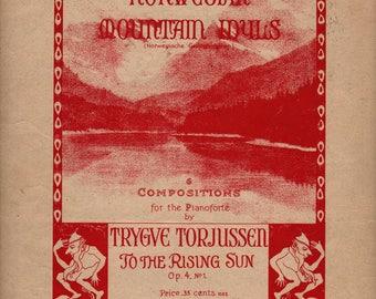 Norwegian Mountain Idyls - Trygve Torjussen - 1912 - Vintage Sheet Music Book