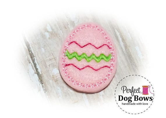 Easter Dog Bow, Pink Easter Egg, Easter Top Knot Bow