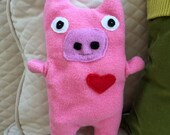 Bub ~ The Pig Bummlie ~ Stuffing Free Dog Toy ~ Ready To Ship Today