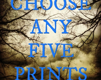5 Print Packs! Pick any design!