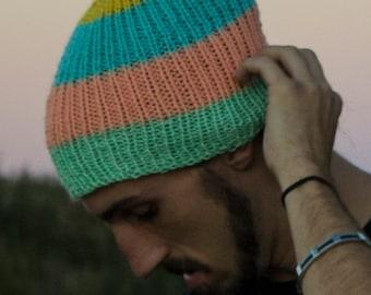 Hand Knit Sherbert