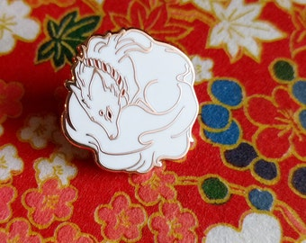 Kitsune no Tamashi [Fox's Spirit] enamel pin