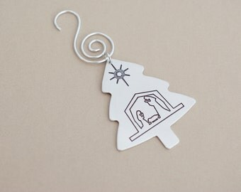Nativity Ornament - Christmas Tree Ornament