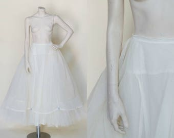 1950s Crinoline --- Vintage Wedding Petticoat