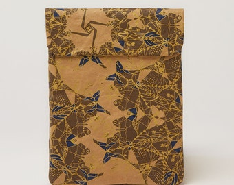 Indigo and Gold iPad & Tablet Paper Sleeve