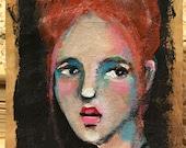 Tea Bag Portrait #49  Portrait of Zoe
