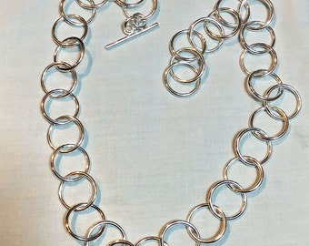 Heavy Wieight Ring Necklace