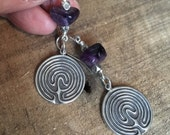 Sterling Silver Labyrinth...