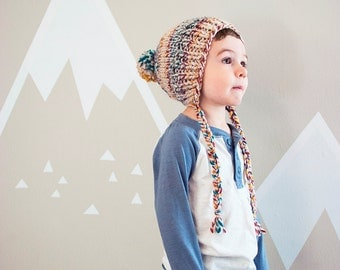 The Argus Hat + Child Chunky Knit Hat + Made to Order