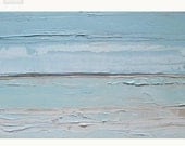Custom order: abstract beach painting