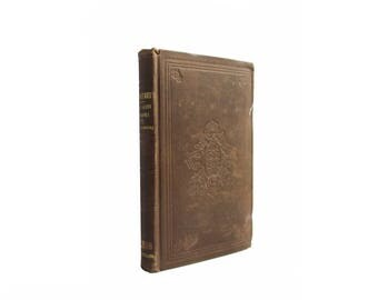 Prometheus Bound - antiquarian volume of Elizabeth Barrett Browning poetry from 1854 - Free US Shipping