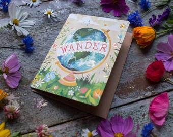 Wander  - Greeting Card
