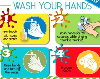 wash your hands sign pdf