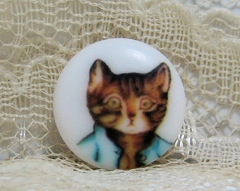 Beatrix Potter Tom Kitten Clothing Button