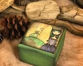 The Frog Princess - Cube keepsake box