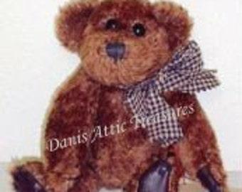 "Vintage Boyds Bears Retired 8"" Baxter B Bean #5151-05, J.B. Bean Series, Vintage 1994 Collectible MWT"